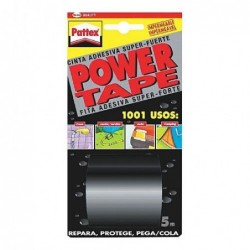 CINTA POWER-TAPE NEG. 50X5...