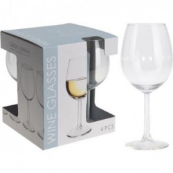 SET 4 COPAS VINO 43CL....