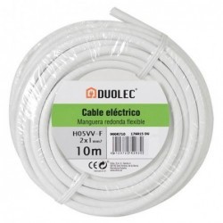 CABLE ELECT MANGUE RED 2X1...