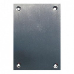 PLACA CIEGA 2 UNID 80X80MM....