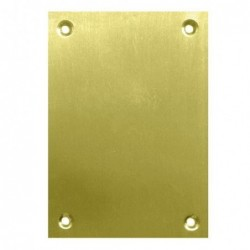 PLACA CIEGA 2 UN 100X70MM....