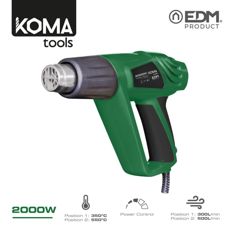 DECAPADOR 2.000W KOMA TOOLS...