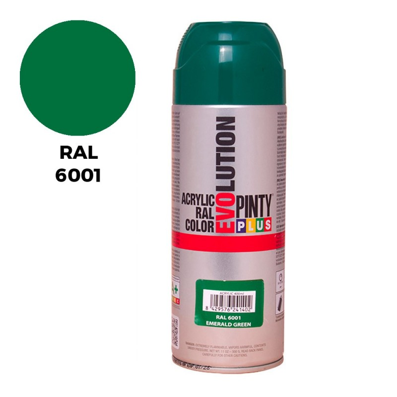 SPRAY RAL 6001 VERDE...