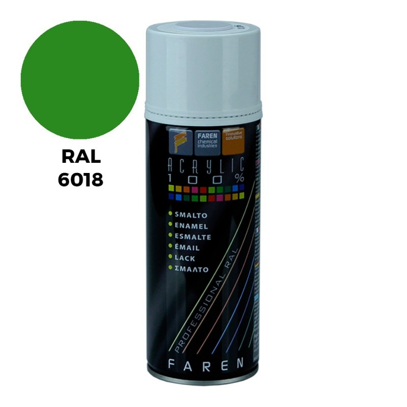SPRAY RAL 6018 VERDE...