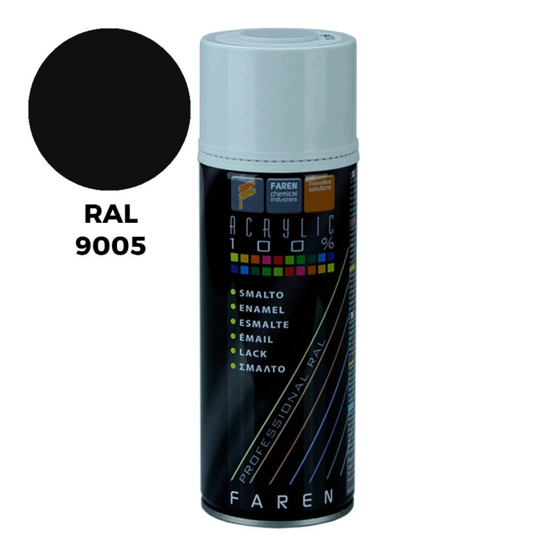 SPRAY RAL 9005 NEGRO...