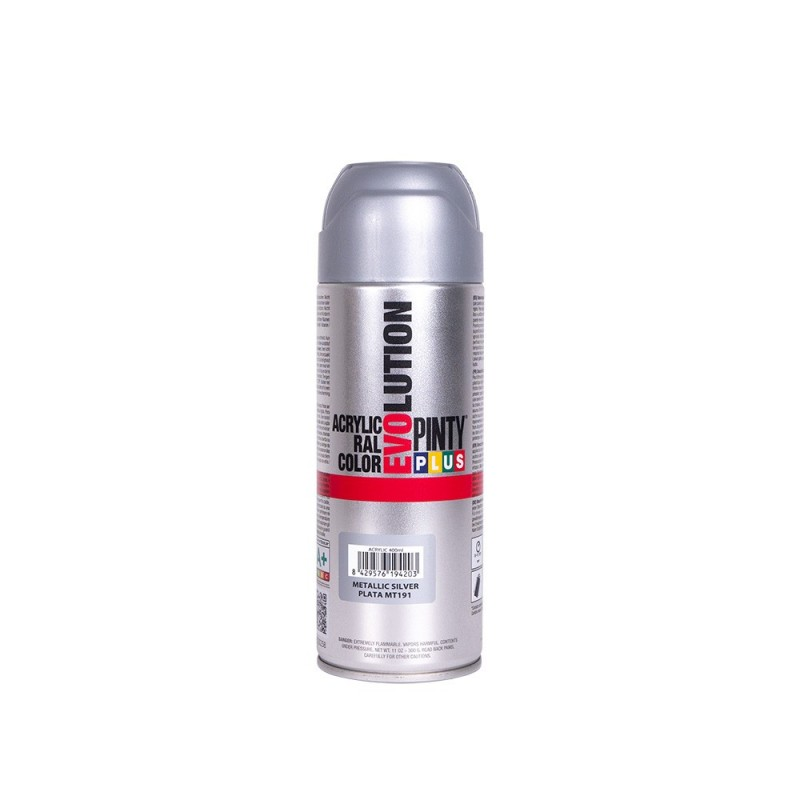 SPRAY METALIZADO GRIS 400ML