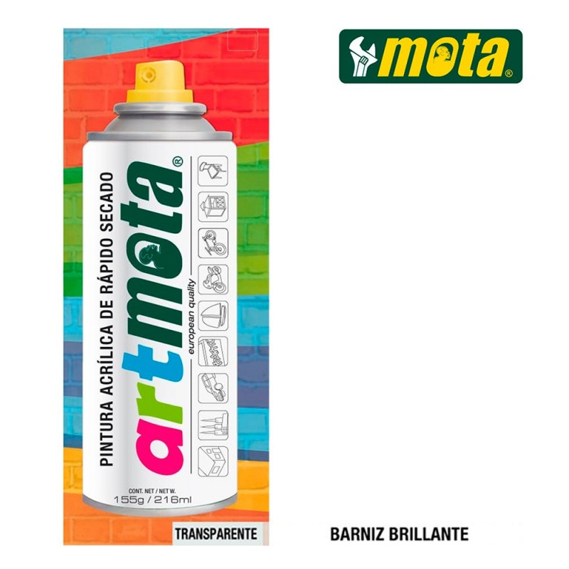 SPRAY BARNIZ BRILLANTE...